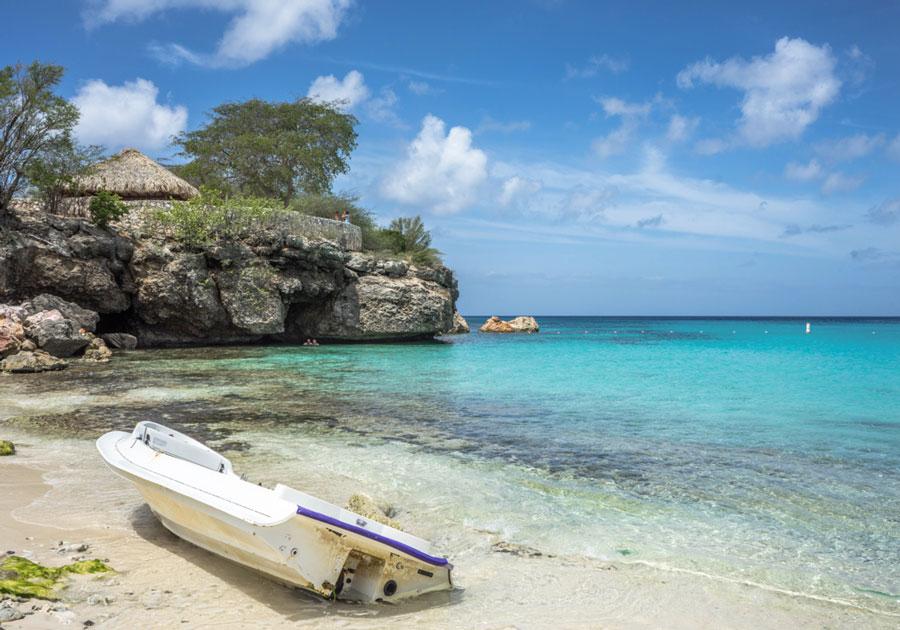 curacao-karibik-grote-knip-romantisch-boot