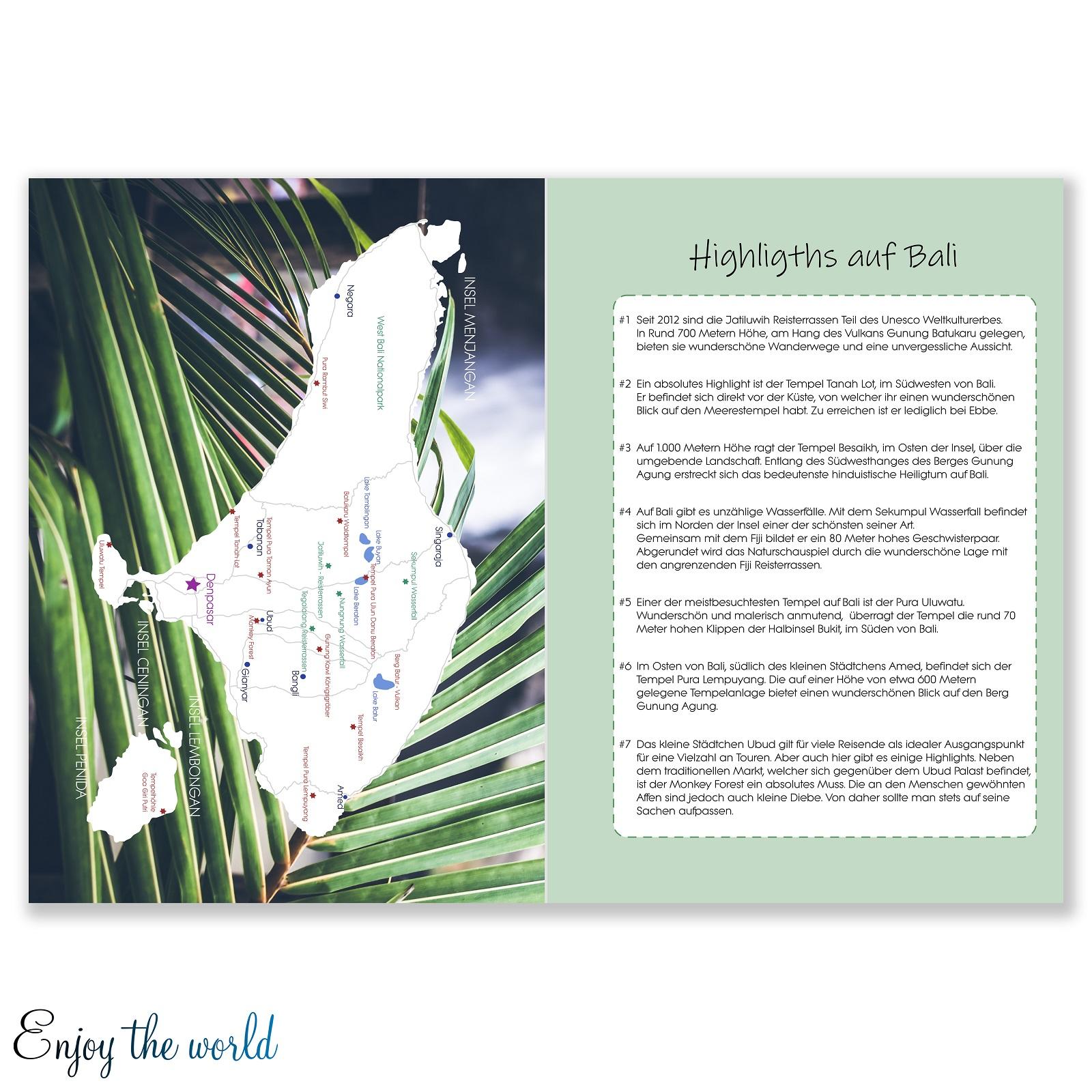 reisetagebuch bali indonesien asien karte map