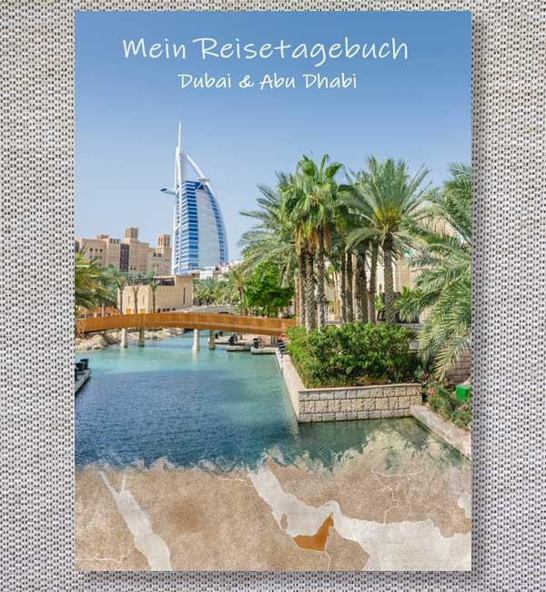 reisetagebuch Cover dubai abu dhabi