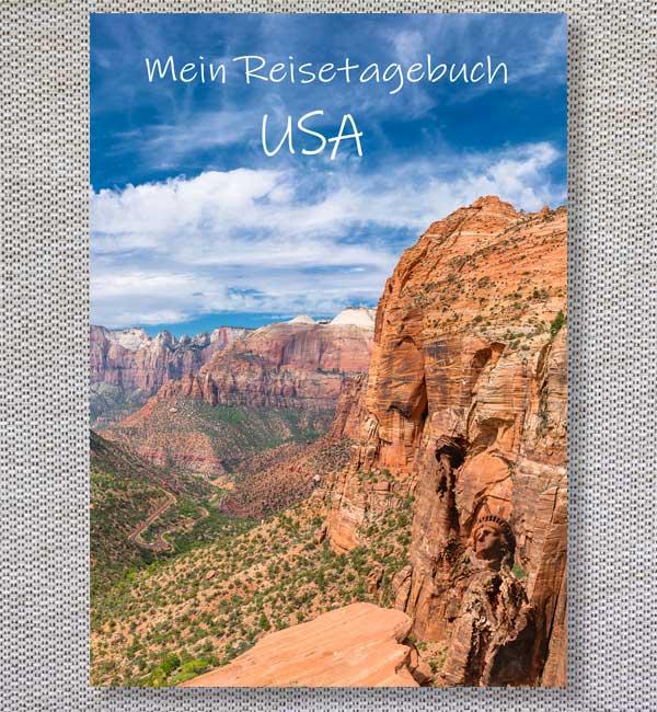 Reisetagebuch USA Cover Detailseite