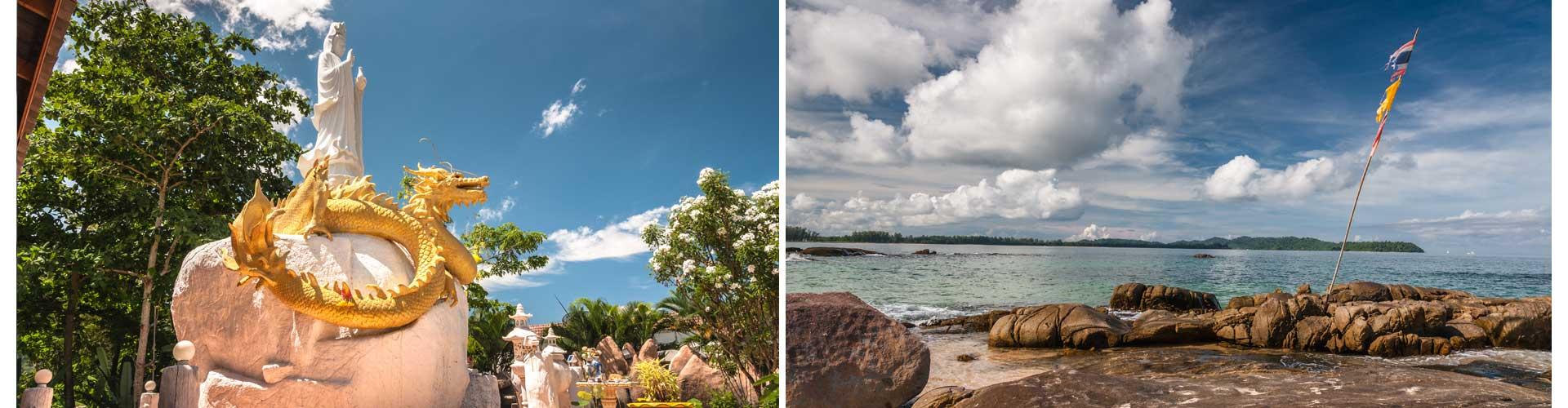 reisetagebuch thailand skulptur strand