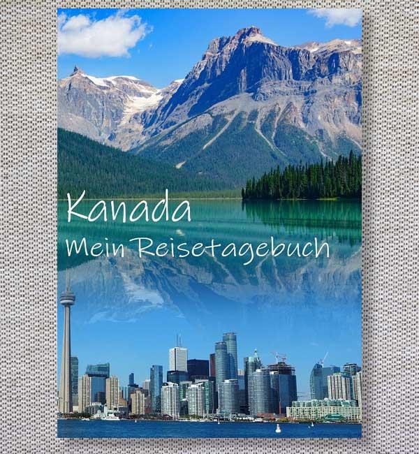 Kanada Cover reisetagebuch zum Selberschreiben