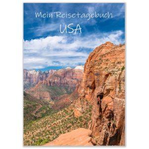 Cover reisetagebuch usa selberschreiben grand canyon