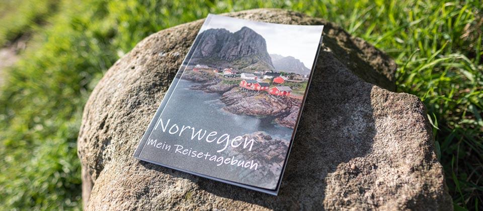 Calmondo reisetagebuch selberschreiben Norwegen Stein