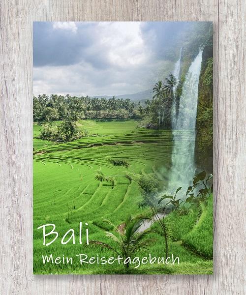 Cover Reisetagebuch Bali