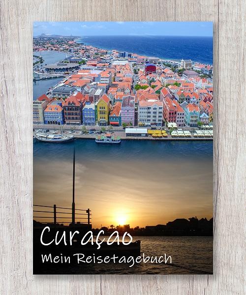 Cover Reisetagebuch Curacao karibik