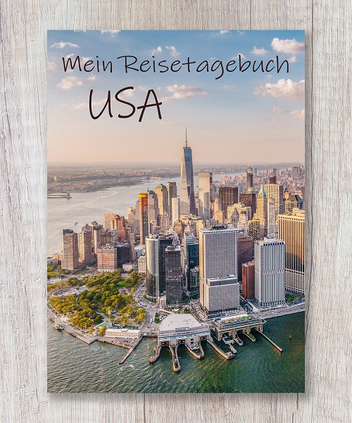 Cover Reisetagebuch USA New York calmondo
