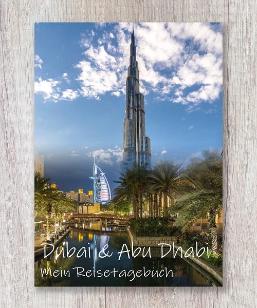 Cover Reisetagebuch dubai abu dhabi emirate