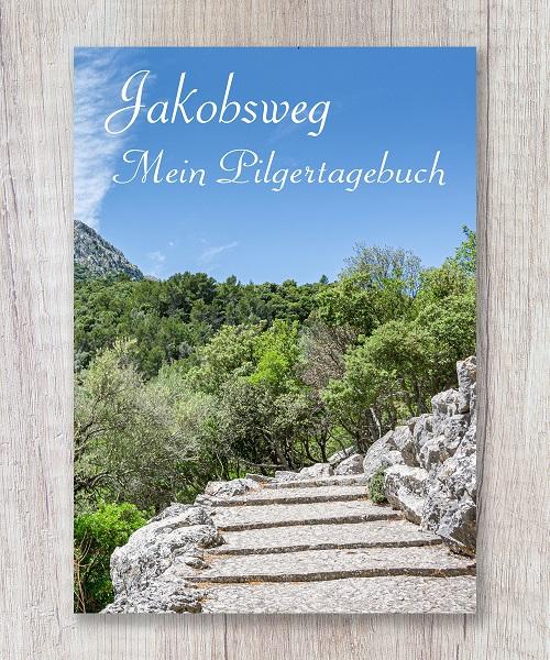 Reisetagebuch jakobsweg pilgern wanderbuch