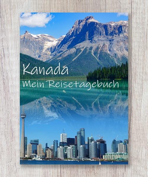 Cover Reisetagebuch kanada amerika