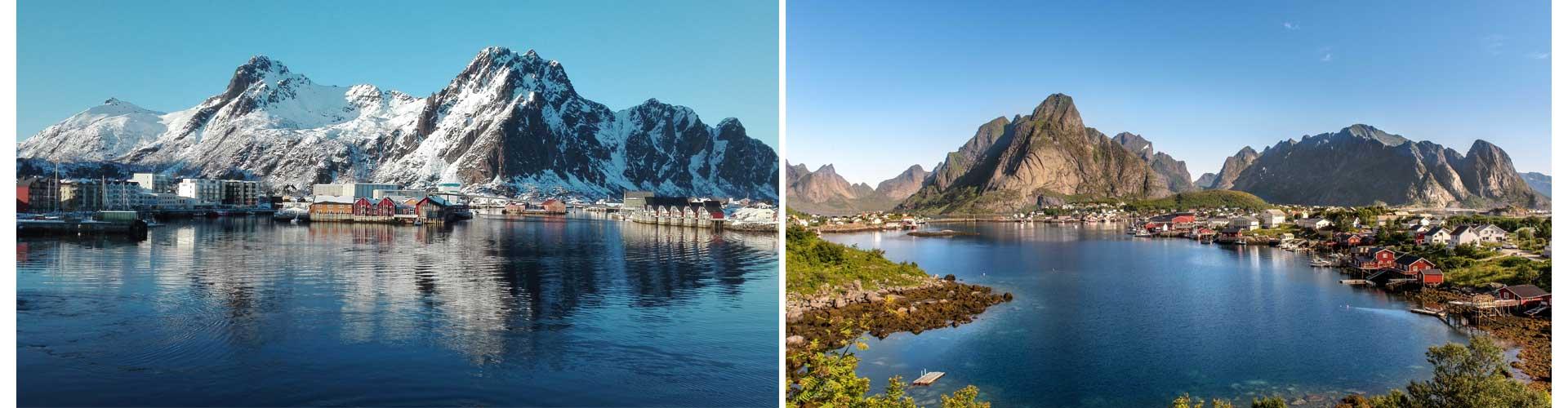 Norwegen Reisetagebuch Skandinavien Schären Fjord Stadt