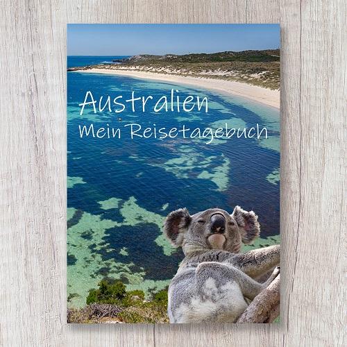 Reisetagebuch zum Selberschreiben Australien Koala Bucht Strand