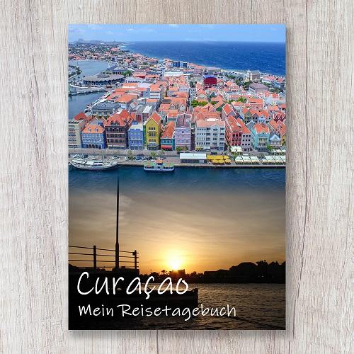 Reisetagebuch zum Selberschreiben Curacao Karibik Amerika Willemstad Antillen