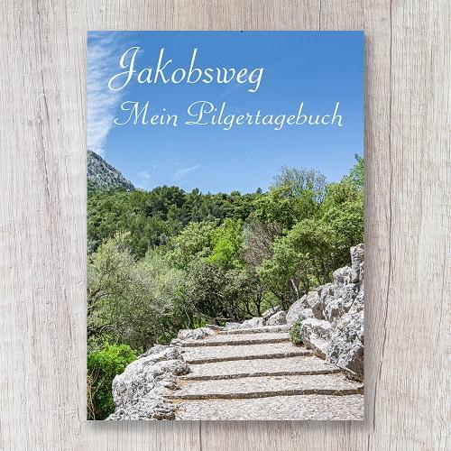 Reisetagebuch zum Selberschreiben Jakobsweg Pilgerbuch Pilgerreise Pilgern