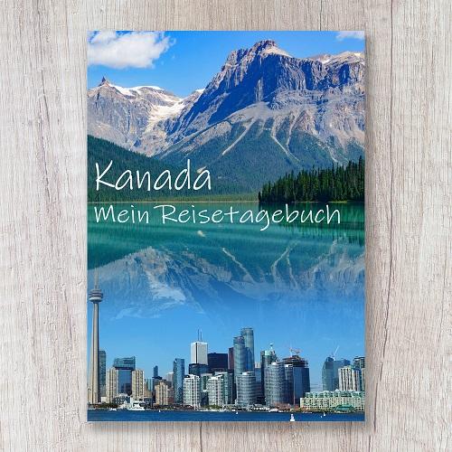 Reisetagebuch zum Selberschreiben Kanada Amerika toronto