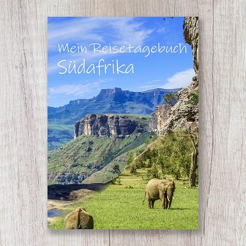 Reisetagebuch zum Selberschreiben Südafrika Safari Tagebuch