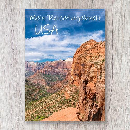 Reisetagebuch zum Selberschreiben USA Grand Canyon Amerika