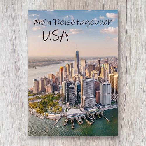 Reisetagebuch zum Selberschreiben USA New York Notizbuch Amerika