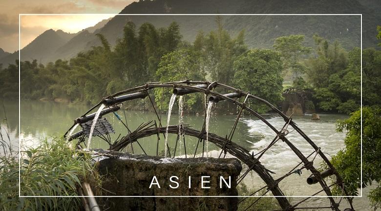 Resietagebuch zum Selberschreiben Asien