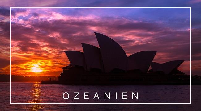 Resietagebuch zum Selberschreiben Ozeanien - Sydney Australien