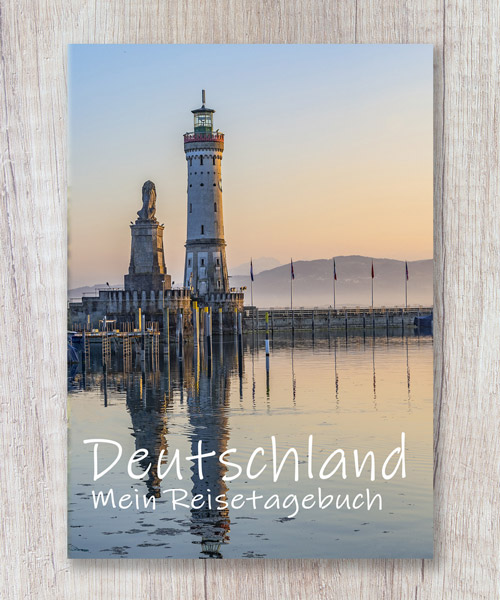 Cover Reisetagebuch Deutschland Selberschreiben