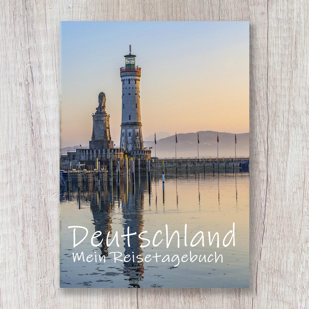 Reisetagebuch zum Selberschreiben deutschland europa lindau bodensee