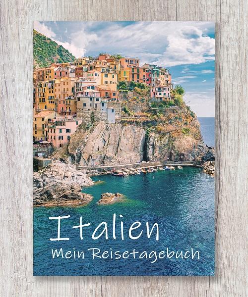 Cover Reisetagebuch italien europa calmondo