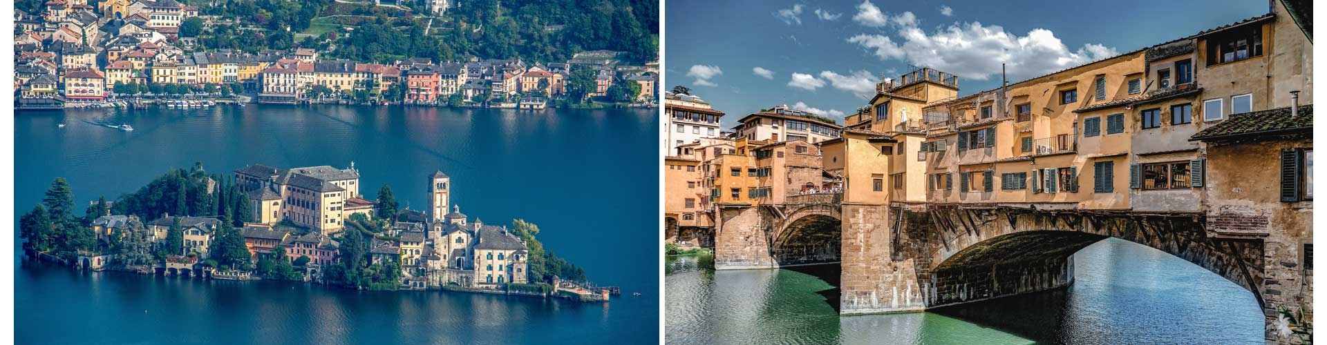 Italien Reisetagebuch europa florenz brücke see lago maggiore