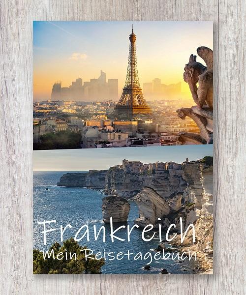 Cover Reisetagebuch frankreich europa calmondo