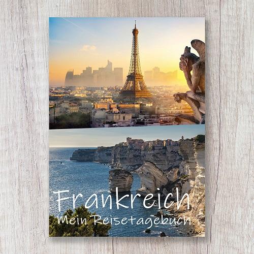 Reisetagebuch zum Selberschreiben frankreich europa calmondo