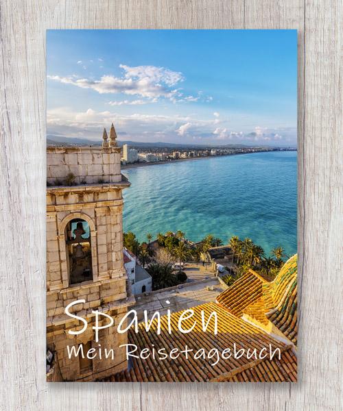 Cover Reisetagebuch Spanien Balearen Kanaren Calmondo