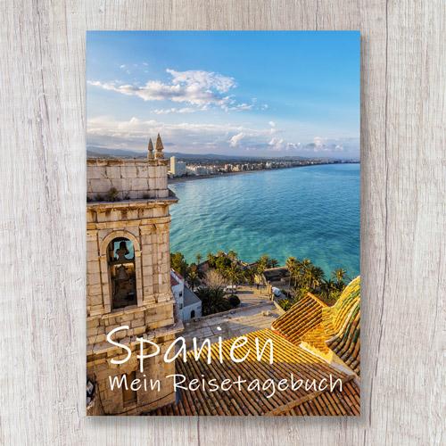 Cover Reisetagebuch Spanien Europa Balearen Kanaren