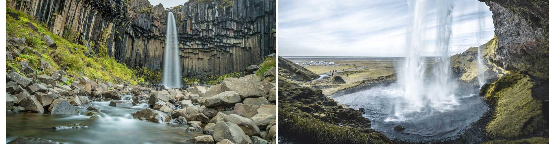 Island Reisetagebuch wasserfall natur